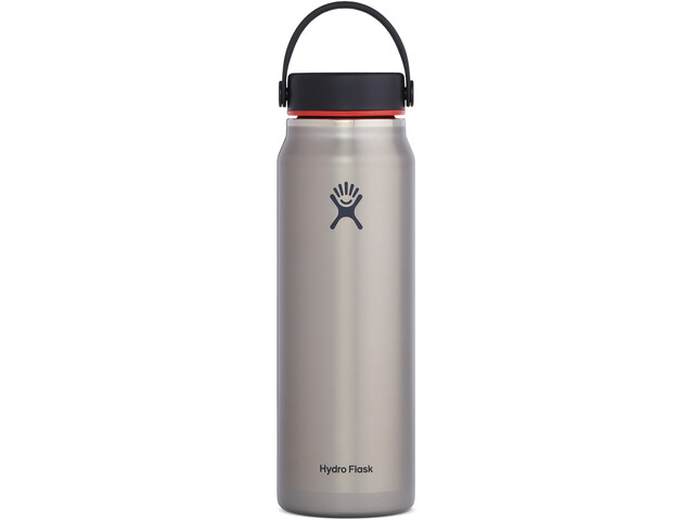 Hydro Flask Wide Mouth Trail Lightweight Gourde Avec Bouchon Flex Cap 946ml, slate